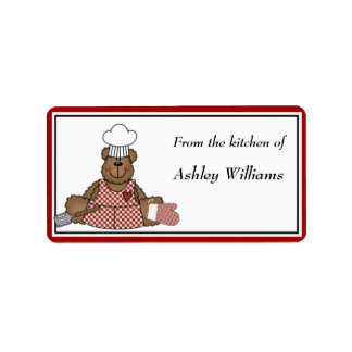 Personalized Kitchen Labels - medium size