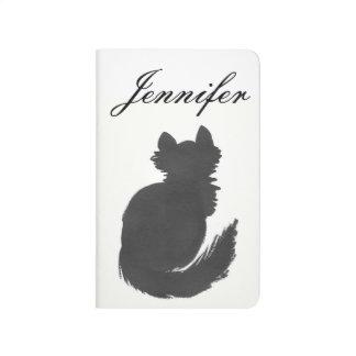 Personalized Kitty Pocket Journal