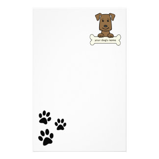Personalized Labrador Retriever Stationery