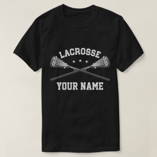 Personalized Lacrosse Name T-Shirt