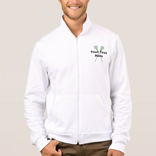 Personalized Lacrosse Player Jacket