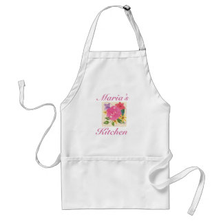 Personalized Ladies Kitchen Apron, Great Gift Standard Apron