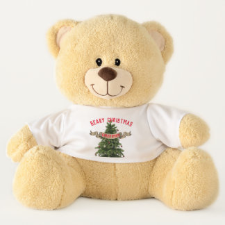 Personalized Large Beary Christmas Teddy Bear