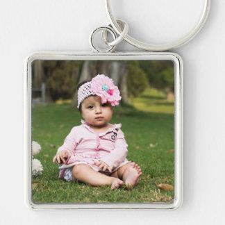 Personalized Large Photo Key Chain