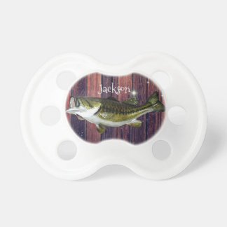 Personalized Largemouth Bass Pacifier