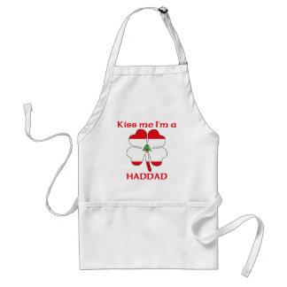 Personalized Lebanese Kiss Me I'm Haddad Standard Apron
