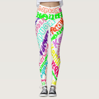 Personalized Leggings Custom Name