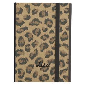 Personalized Leopard Skin iPad Case