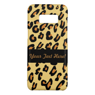 Personalized Leopard Skin Pattern Case-Mate Samsung Galaxy S8 Case