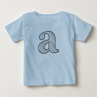 Personalized Letter Baby Tee