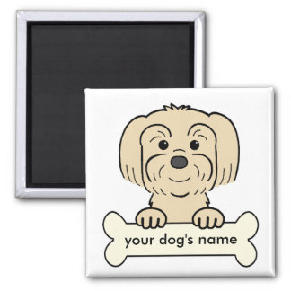 Personalized Lhasa Apso Magnet