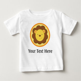 Personalized Lion Baby T-Shirt