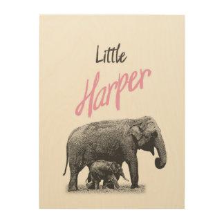 """Personalized """"Little Harper"""" Wood Wall Art"""