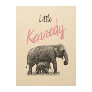 """Personalized """"Little Kennedy"""" Wood Wall Art"""
