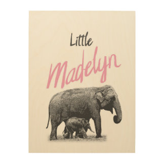 """Personalized """"Little Madelyn"""" Wood Wall Art"""