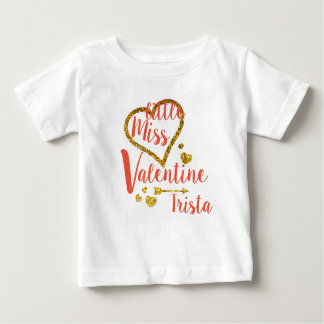 Personalized Little Miss Valentine Shirt