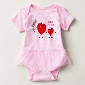 Personalized Love Bug Tutu Dress