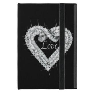 Personalized Love Diamond Heart iPad Mini Case