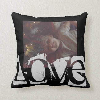 Personalized LOVE pillow