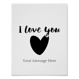 Personalized Love Quote Print, Romantic Wall Art