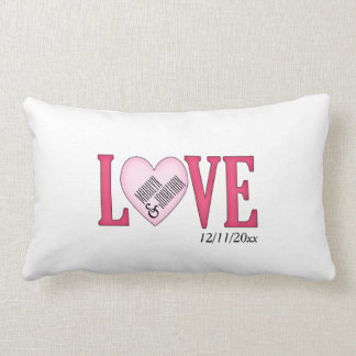 Personalized Love Wedding Gift Pillow