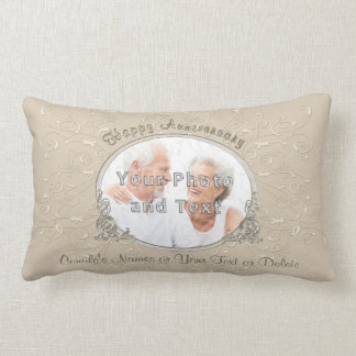 Personalized Lumbar Pillow Photo Anniversary Gifts