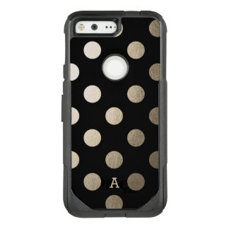 Personalized | Luxe Dots OtterBox Commuter Google Pixel Case