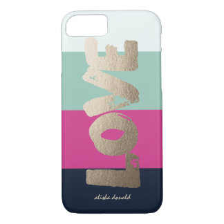 Personalized | Luxe Stripes iPhone 8/7 Case
