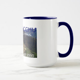 Personalized Machu Picchu, Inca Trail Celebration Mug