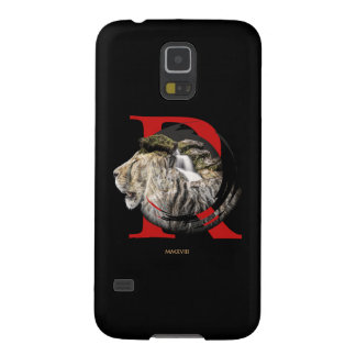 Personalized Majestic Lion and Waterfall Design. Galaxy S5 Cover