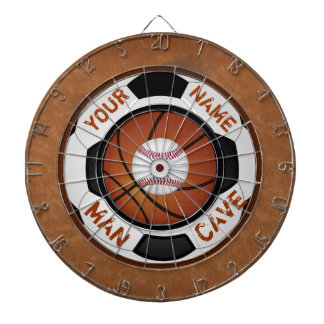 Personalized Man Cave Ideas Sports Theme Dart Dart Board