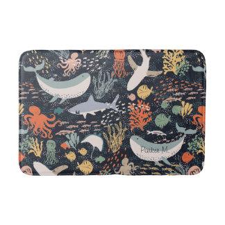 Personalized | Marine Life Bath Mat