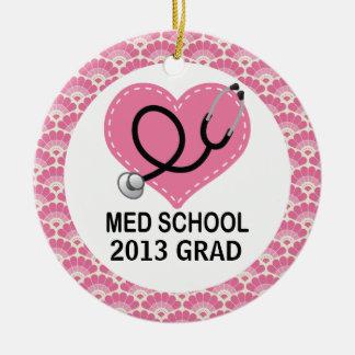 Personalized Med School Graduate Ornament