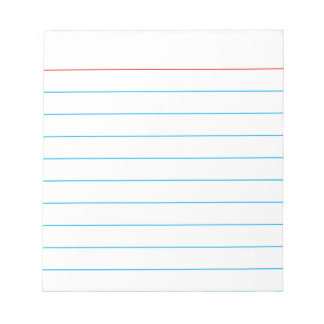 Personalized Memo Pad with Business Lines