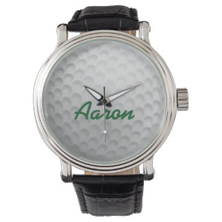 Personalized Men's Golf Ball Golfing Watch Gift