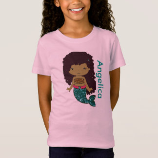 Personalized Mermaid Girl's shirt