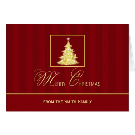 Personalized Merry Christmas Note Cards