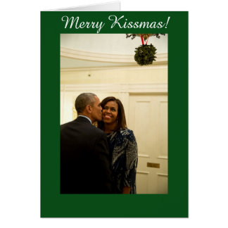 Personalized Merry Kissmas - Greeting Card