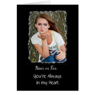 """Personalized """"Miss You"""" Card"""