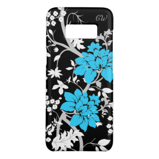 Personalized Modern floral Case-Mate Samsung Galaxy S8 Case