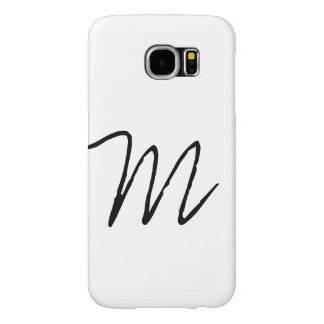 Personalized Modern Monogram Samsung Galaxy S6 Cases