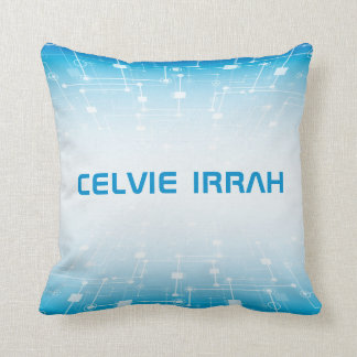 Personalized Modern Technology | Throw Pillow