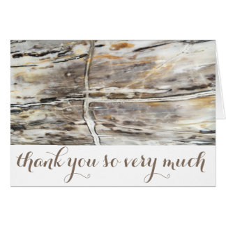 Personalized Modern Thank You Card