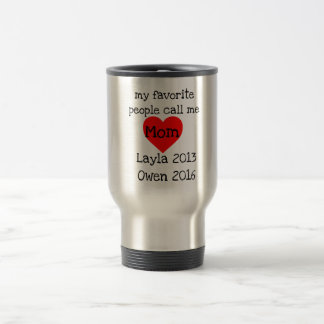 personalized mom mug with names