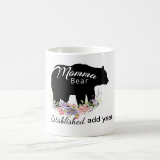 Personalized Momma Bear Mug