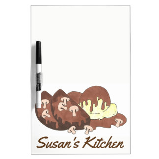 Personalized Mom's Meatloaf Kitchen Cooking Potato Dry Erase Board