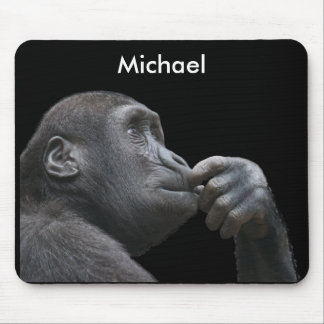 Personalized Monkey Business Mouse Pad