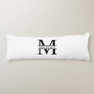 Personalized Monogram and Name Body Pillow