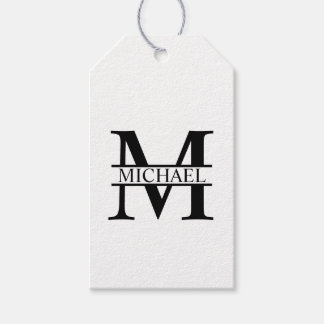 Personalized Monogram and Name Gift Tags