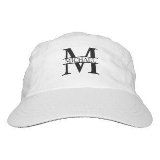 Personalized Monogram and Name Hat
